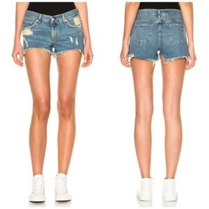 Rag & Bone Cutoff Jean Denim Shorts in Winnie